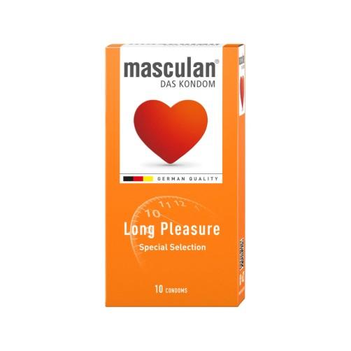 MASCULAN CONDOM 10P LONG PLEASURE
