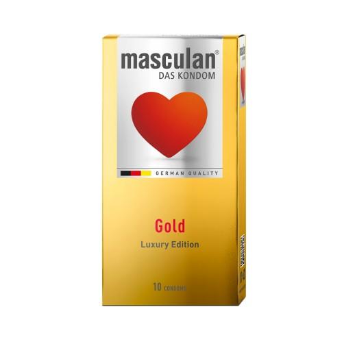 MASCULAN CONDOM 10P GOLD