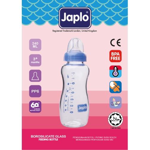 JAPLO 240ML BOTTLE GLASS