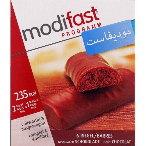 MODI FAST CHOCOLATE 6 BARS