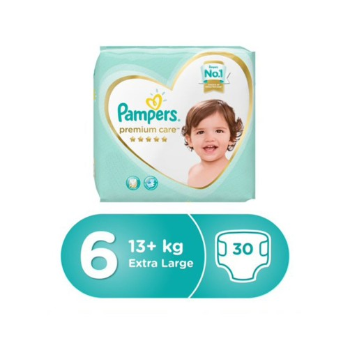 PAMPERS NO 6 PREMIUM CARE 30