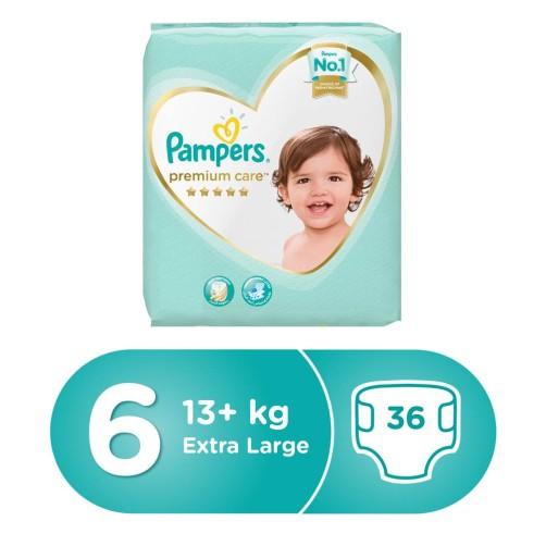 PAMPERS NO 6 PREMIUM CARE 34