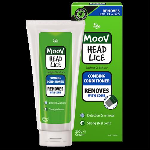 EGO MOOV HEAD LICE CONDITIONER COMB 200ML