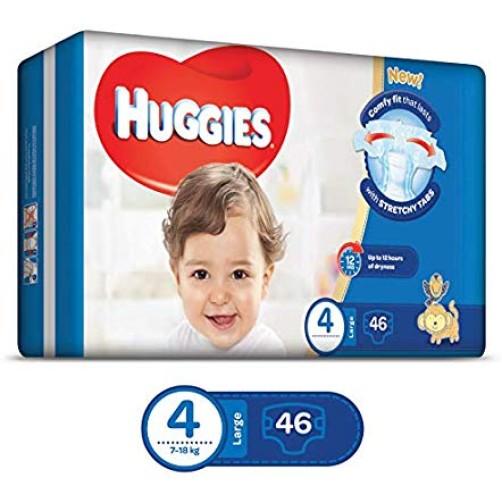 HUGGIES (4) SUPER FLEX LARGE 46
