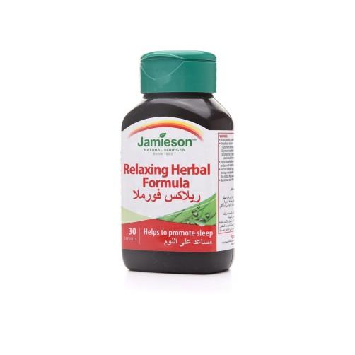 jamieson relaxing herbal formula 30cap