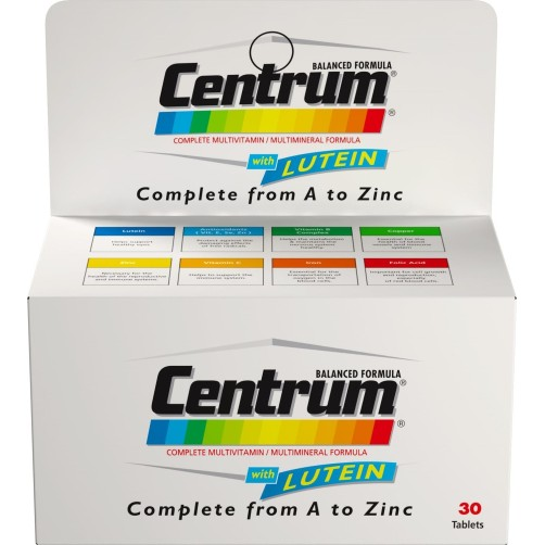 Centrum  with Lutein 30 Tab.