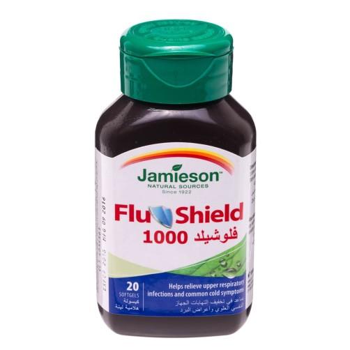 jamieson flu shield 20 cap